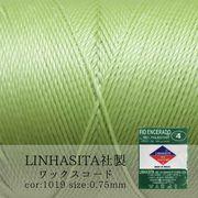 ワックスコード LINHASITA社 メロン 0.75mm 約210m ロウ引き紐 I 1019 品番:10712