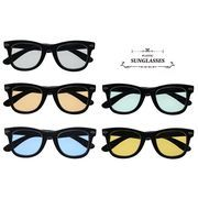 ★sunglasses★  ウェリントン  ライトカラ―レンズ  サングラス【全5色】