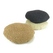コマ編みペーパーベレー ヤング帽子