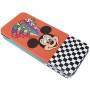 【缶ペンケース】ミッキーマウス/メタルケース/フェイス