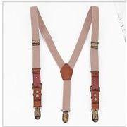 韓国ファッション 韓国子供服 男性用ストラップ 2.5*115CM 7色