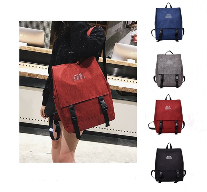 リュックサック カバン 旅行 通学バッグ レディース 大容量 韓国風 4色