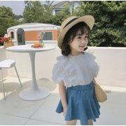 韓国ファッション 韓国子供服  2020春夏新作 子供服  トップス+スカート 2点セット