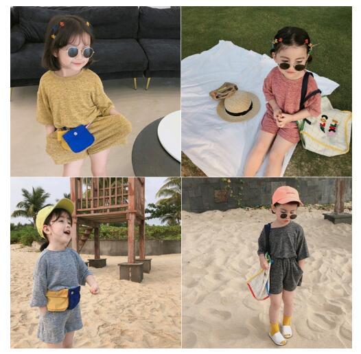 韓国ファッション 韓国子供服  2020春夏新作 子供服  Tシャツ+ズボン 2点セット