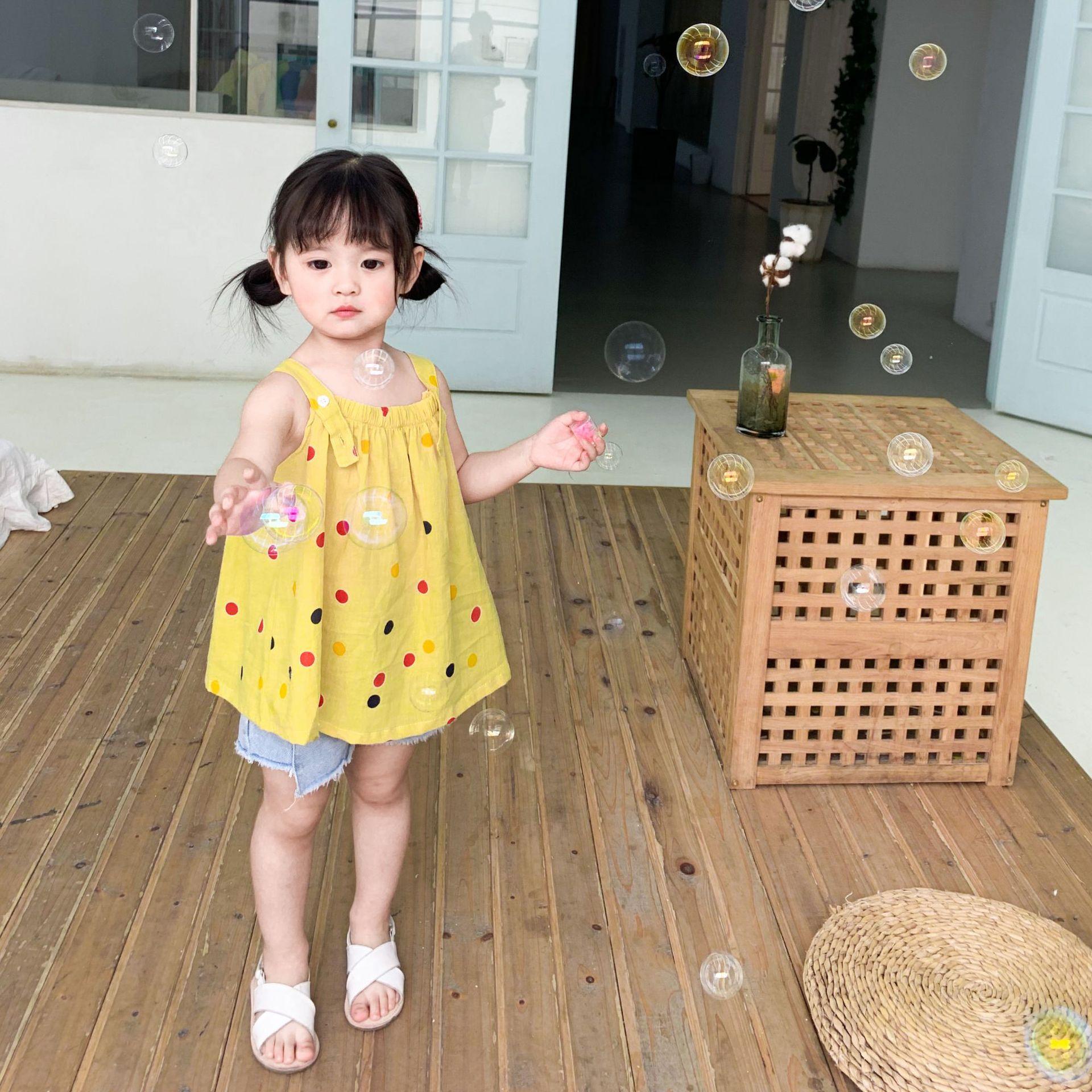 韓国ファッション 韓国子供服  2020春夏新作 子供服  トップス スカート 80-130CM