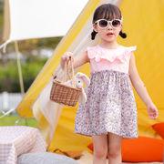 ワンピース プリント プリンセス キッズ 女の子 韓国子供服 2020新作 SALE ファッション
