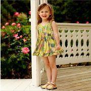 ワンピース ショート  Vネック キッズ 女の子 韓国子供服 2020新作 SALE ファッション m14798