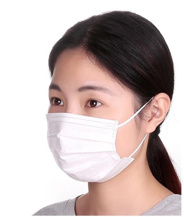 国内在庫有り 大量在庫発送 使い捨てマスク 花粉症 マスク 50枚入/1袋 3層構造 大人用 【即時発送可】