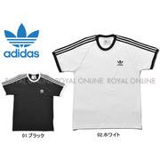 S) 【アディダス オリジナルス】 半袖Tシャツ スリーストライプス Tシャツ 全2色 メンズ