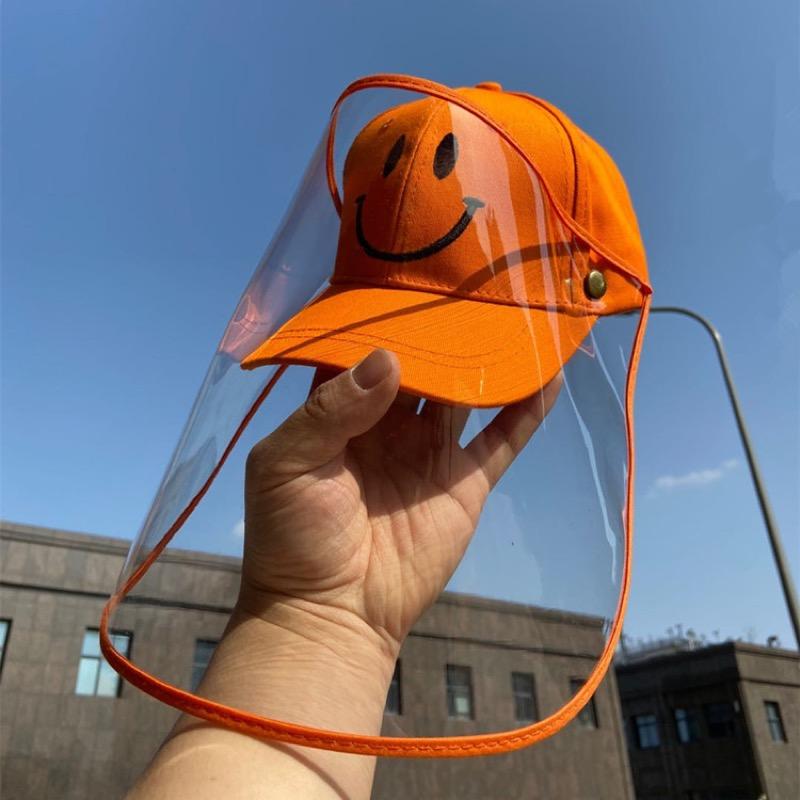 キッズ 子供 シールド付き 取り外し可 帽子 ハット キャップ アウトドア 日焼け防止
