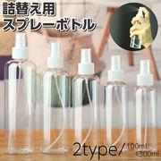 【即納】spray001 スプレーボトル クリア 容器 詰め替え 2020春夏新作