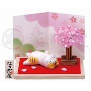 ★可愛い猫物語★ 和みの猫グッズ「なつかし屋」【猫町ねこ(桜)】
