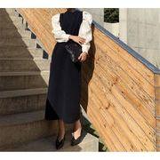 活気に満ちた少女 2020 春 新品 韓国ファッション 気質 減齢 エレガント 気高い 縫付 大人気 ワンビース