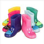 キッズ レインブーツ 子供靴 レインブーツ 子供用 シューズ 長靴 雨靴 6色