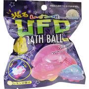 光るレインボー UFOバスボール レモンの香り 80g 1回分