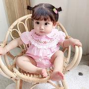 ベビー Tシャツ ワンピース 連体衣 可愛い 涼しい キッズ 韓国子供服 ファッション 2020新作 SALE動画あり