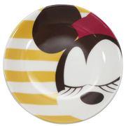 【小皿】ミニーマウス ラウンドプレートS フェイス