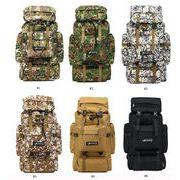 アウトドア旅行バッグ 大容量スポーツクライミングバックパック 80L男女旅行ハイキングバッグ荷物