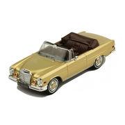 ixo/イクソ メルセデスベンツ 280 SE 3.5 1969 メタリックゴールド