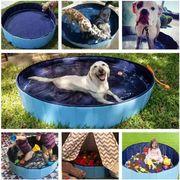 犬用プール ペット用プール 夏の子犬猫用折りたたみ式プール 犬のクリーニング用品 お風呂用品夏新品