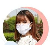 即納 レースマスク 夏用マスク レディースマスク 姫マスク♪