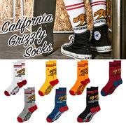 【オシャレ】【ストリート】California Grizzly Socks ソックス 靴下