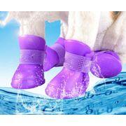 2020新品★雨靴★ペット用品★♪ペット靴★犬靴★アウトドア★ 愛犬大変身★防水★可愛い★多色