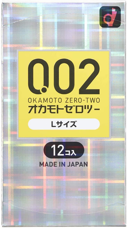 オカモト ゼロツー(0.02)Lサイズ 12個入