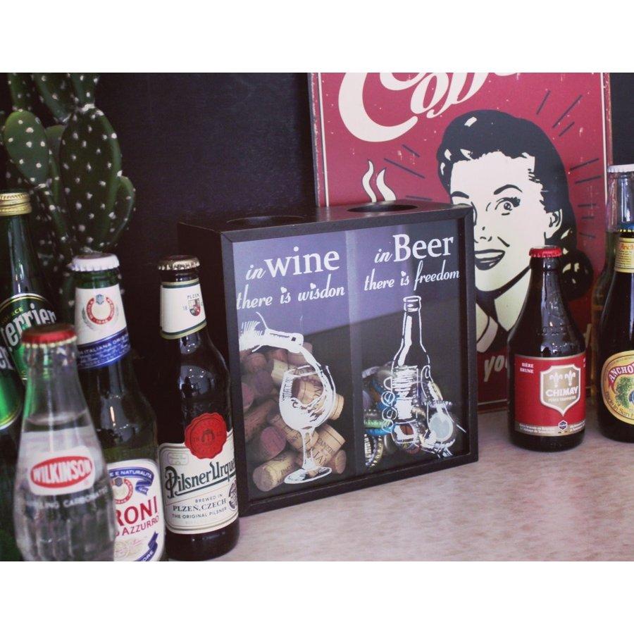 【sale】 BOTTLE CAP STOCKER (WINE&BEER )