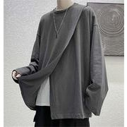 【Twitterで話題沸騰!】韓国ファッション スリット デザインセンス 百掛け デザインセンス 個性