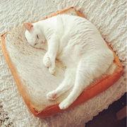 学生 椅子 クッション トースト ペット 猫 ぬいぐるみ 枕 シートクッション おもちゃ クッション
