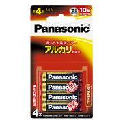 パナソニック 単4乾電池 4P LR03XJ/4B