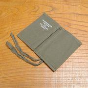 ドイツ軍放出品 ソーイングキットポーチ 裁縫セット収納袋 コットン製
