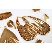 銅製高品質アソートペアセット/基礎金具/デコパーツ/幾何パーツ/シンプル幾何チャーム