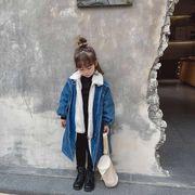 m16351 秋冬新作  SALE韓国子供服 ジャケット コート 長袖  厚手 人気商品 キッズ  ファッション