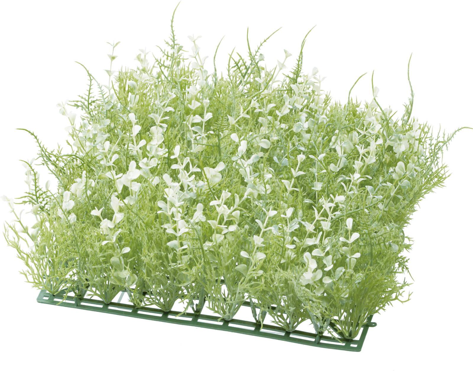 【造花】【インテリアグリーン】ミックスハーブマット