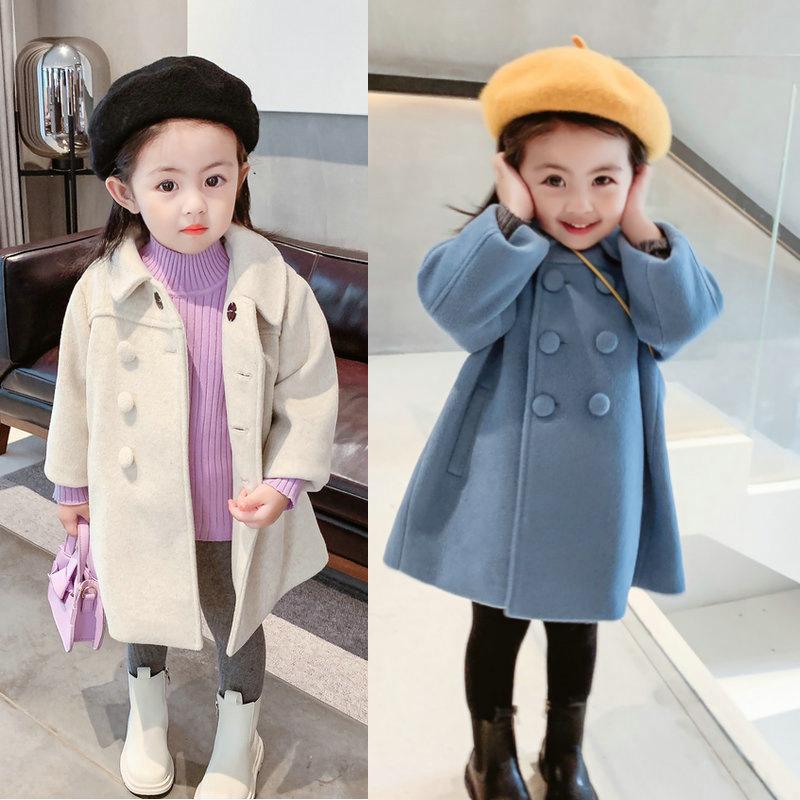 秋冬新作 韓国風子供服 キッズファッション★キッズ暖かいコート  トップス★超人気コート