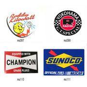 レーシング ステッカー レディキロワット ヨコハマタイヤ チャンピオン SUNOCO 耐水性加工 アメリカン雑貨