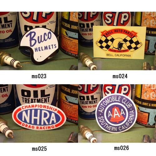 レーシング ステッカー BUCO BELL NHRA AAA ブコ ベル 耐水性加工 アメリカン雑貨