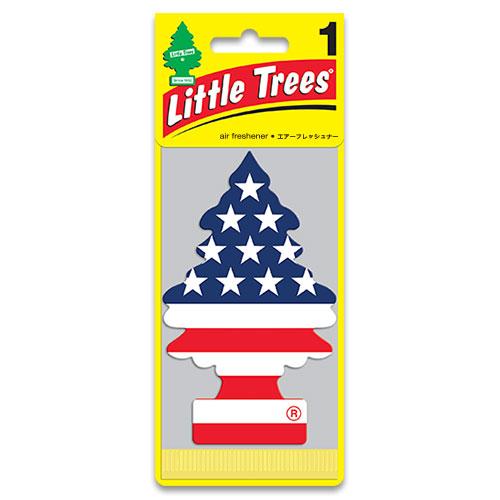 リトルツリー エアフレッシュナー LittleTrees スターズアンドストライプス(バニラプライド)