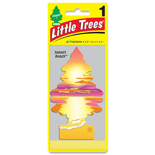 リトルツリー エアフレッシュナー LittleTrees LittleTrees サンセットビーチ