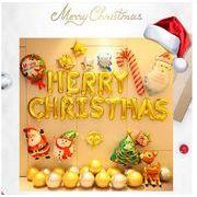 クリスマスバルーンセット クリスマス室内装飾サンタクロースパーティーバルーン用品