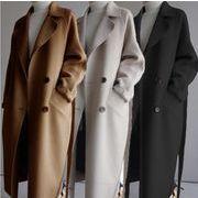 2020新品 韓国 ファッション  気質 中  長セクション ウールコート
