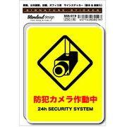 SGS-019 防犯カメラ作動中 家庭、公共施設、店舗、オフィス用