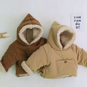 【BABY KID】 もこもこ可愛い!ウィンターウェアコートジャケット 秋冬服   全2色