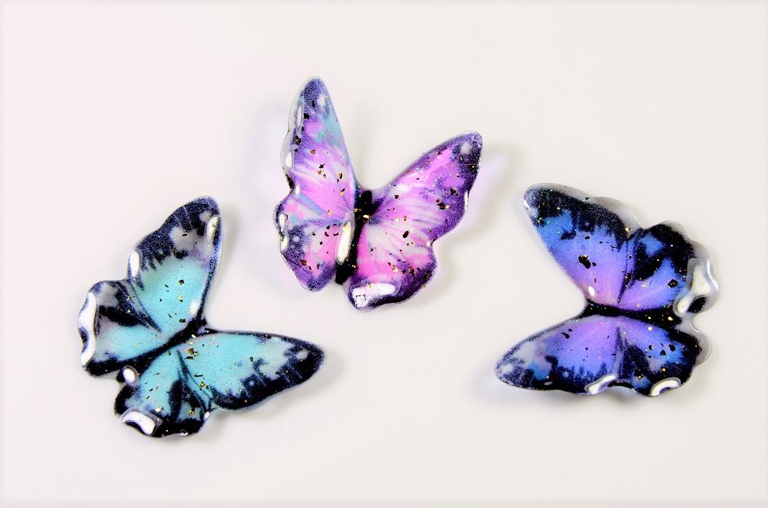 【立体構造】蝶々デコパーツ蝶々モチーフ/夏アクセサリートレンドパーツ/ネッシー最安値保証