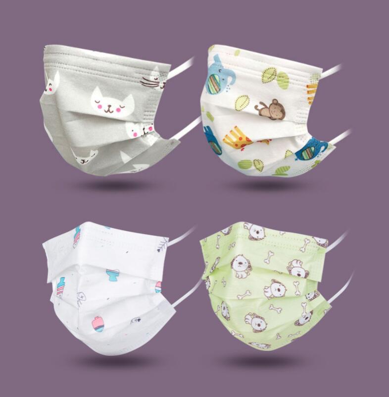子供マスク 三層不織布マスク  使い捨て キッズ用マスク 個包装