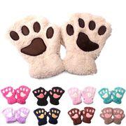 新作/寒い冬/暖かい手袋/防寒/可愛い手袋/子供手袋/手袋/毛糸手袋