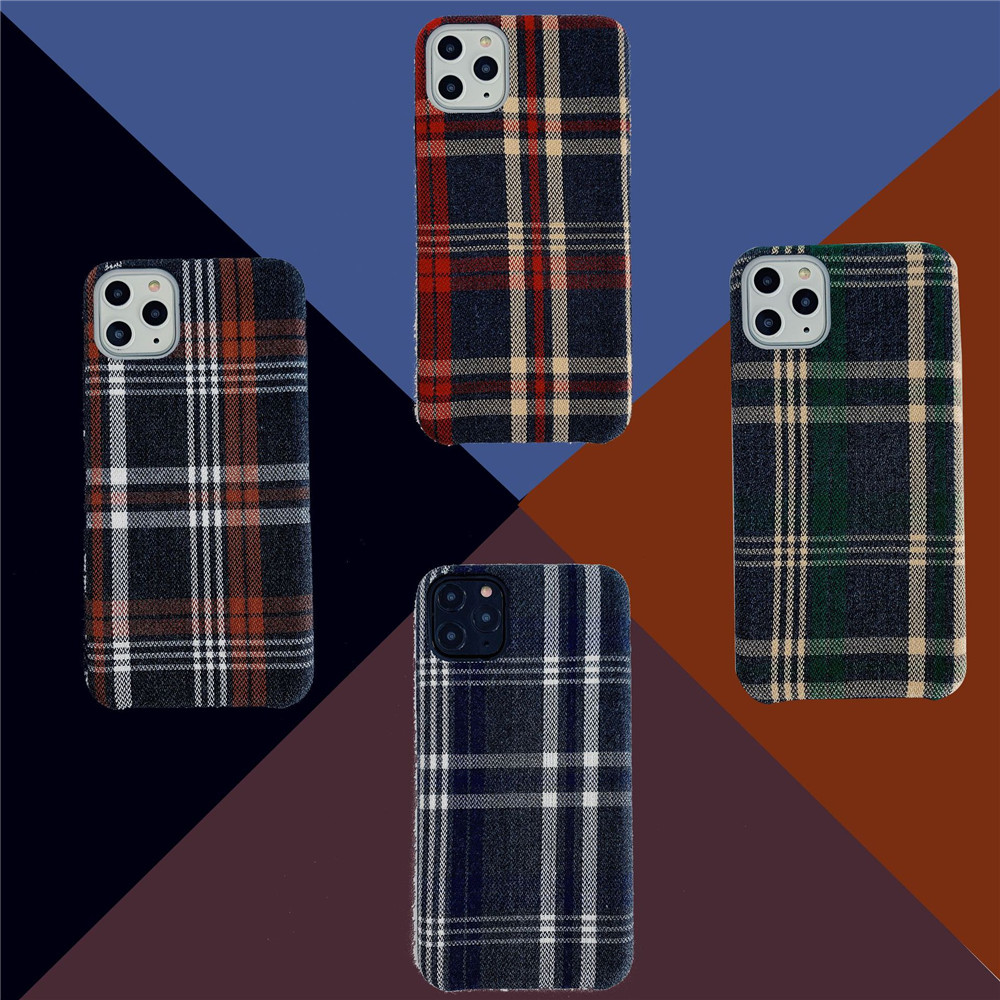 ファブリックケース iPhone12 mini スマホケース iPhone11用保護ケース