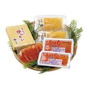北海道産いくらとやまや明太子・味付け数の子 詰合せ 2739-50(送料無料)【直送品】